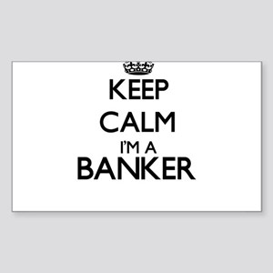 Keep calm I'm a Banker Sticker