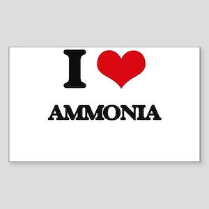I Love Ammonia Sticker