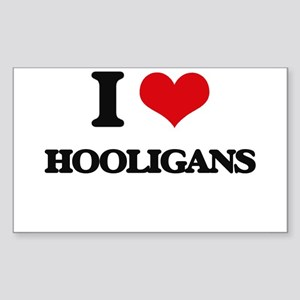 I Love Hooligans Sticker