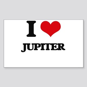 I Love Jupiter Sticker