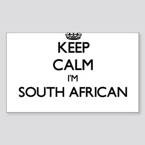 Keep Calm I'm South African Sticker