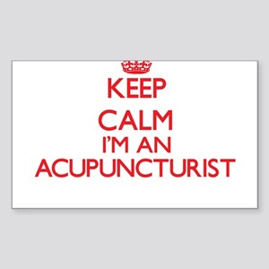 Keep calm I'm an Acupuncturist Sticker