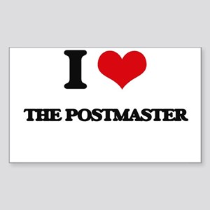I Love The Postmaster Sticker