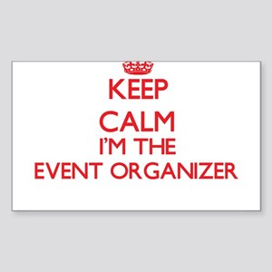 Keep calm I'm the Event Organizer Sticker
