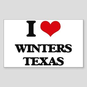 I love Winters Texas Sticker