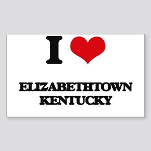 I love Elizabethtown Kentucky Sticker
