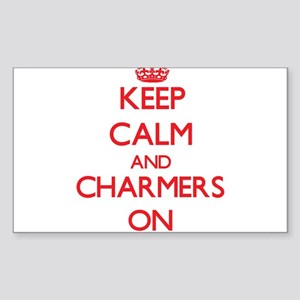 Keep Calm and Charmers ON Sticker