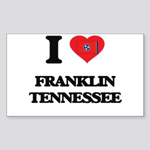 I love Franklin Tennessee Sticker