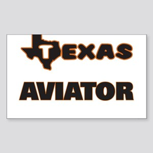 Texas Aviator Sticker