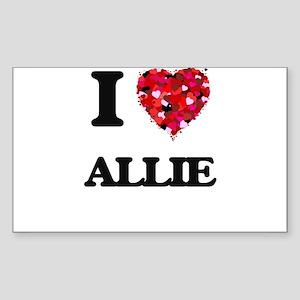 I Love Allie Sticker