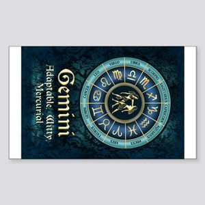 Gemini Astrology Zodiac Sign Sticker