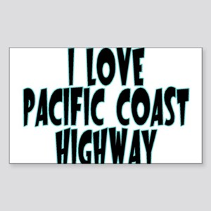 Pacific Coast Highway Sticker