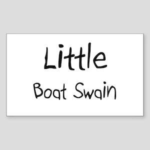 Little Boat Swain Rectangle Sticker