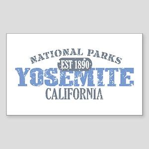 Yosemite National Park Califo Sticker (Rectangle)