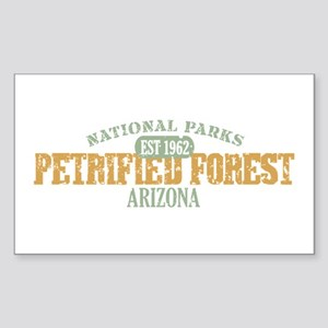 Petrified Forest Arizona Sticker (Rectangle)