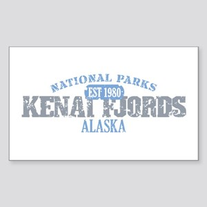 Kenai Fjords National Park AK Sticker (Rectangle)