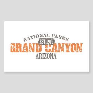 Grand Canyon National Park AZ Sticker (Rectangle)