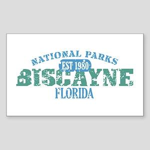 Biscayne National Park FL Sticker (Rectangle)
