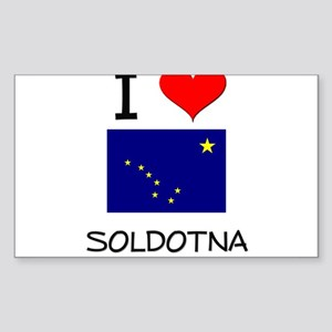 I Love SOLDOTNA Alaska Sticker
