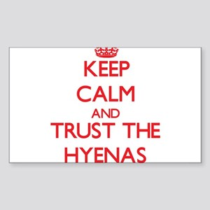 Keep calm and Trust the Hyenas Sticker