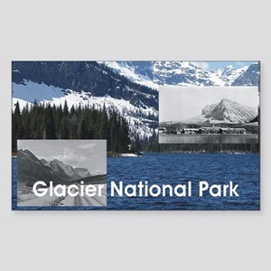 glacier1b Sticker (Rectangle)
