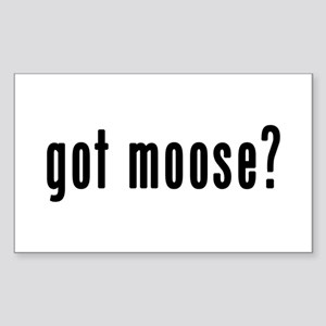 GOT MOOSE Sticker (Rectangle)