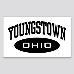 Youngstown Ohio Sticker (Rectangle)
