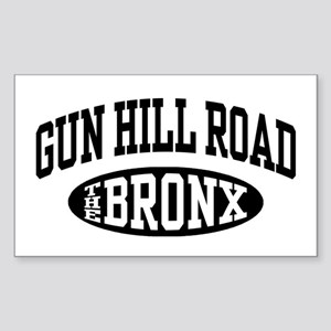 Gun Hill Road The Bronx Sticker (Rectangle)