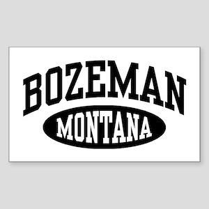 Bozeman Montana Sticker (Rectangle)