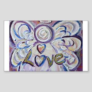 Love Angel Sticker