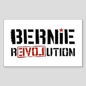 Bernie Revolution Sticker (Rectangle)