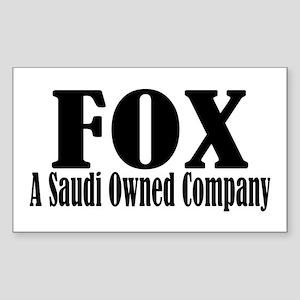 Saudi Prince Alwaleed bin Talal Sticker (Rectangle