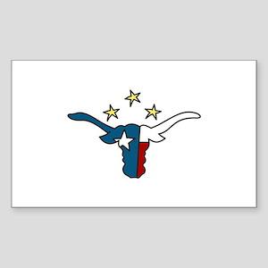 Long Horn Bull Sticker