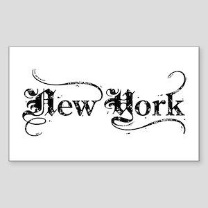 New York Rectangle Sticker