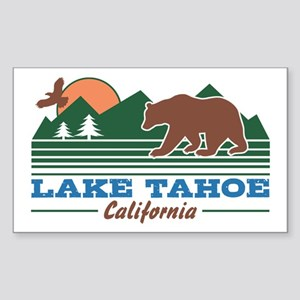Lake Tahoe California Sticker (Rectangle)
