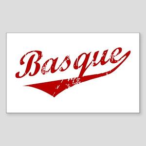 Basque Swoosh Rectangle Sticker