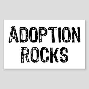 Adoption Rocks Sticker (Rectangle)