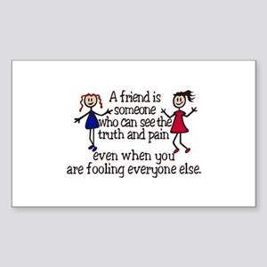 A Friend Is Sticker