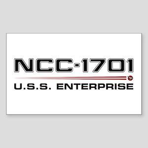 USS Enterprise Refit Dark Sticker