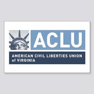 Aclu-Va Sticker