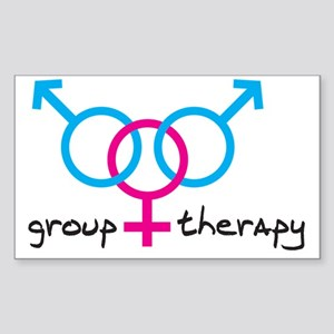 group-therapy-bgb Sticker (Rectangle)