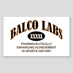 Balco Rectangle Sticker