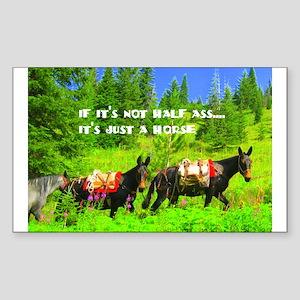 Mule Sticker (Rectangle)