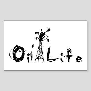 Oil Life Sticker (Rectangle)