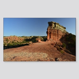 Rock Fin at Palo Duro Canyon Sticker (Rectangle)