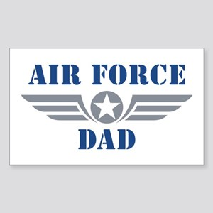 Air Force Dad Sticker (Rectangle)