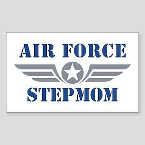 Air Force Stepmom Sticker (Rectangle)