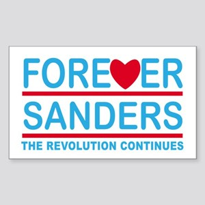Forever Sanders, the Revolution Continues Sticker