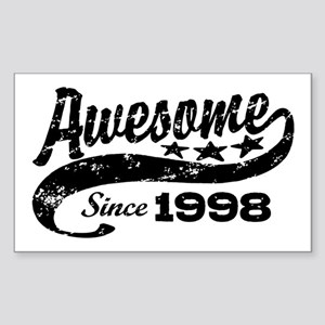 Awesome Since 1998 Sticker (Rectangle)