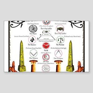 MOORISH TREE OF LIFE Sticker